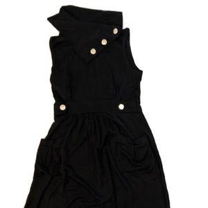Isabella Rodriquez Black Mini Dress